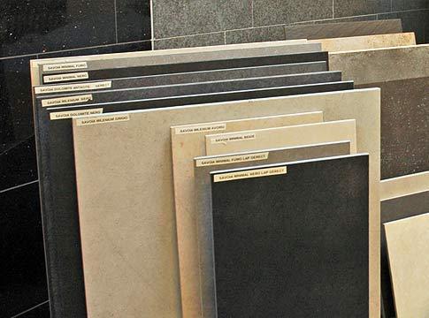 natuursteen assortiment keramische tegels